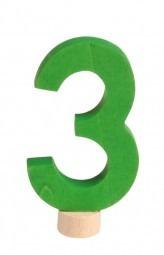 Zahlenstecker 3