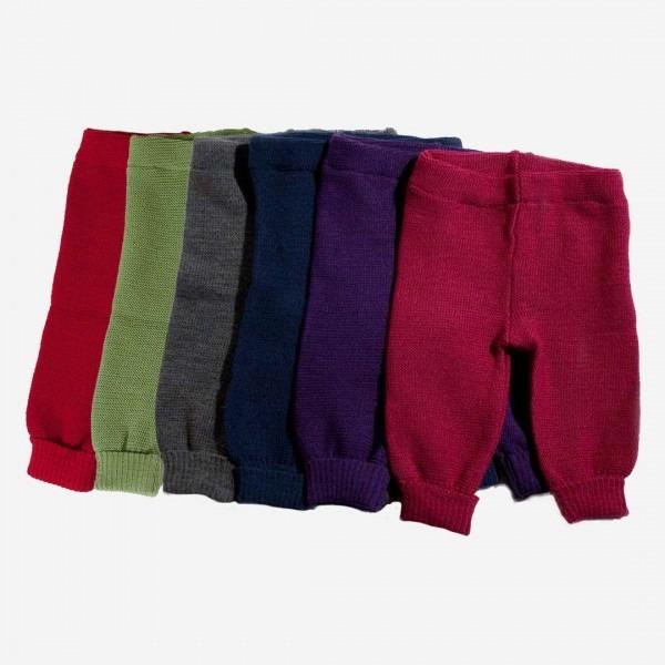 Strickhose Uni Wolle
