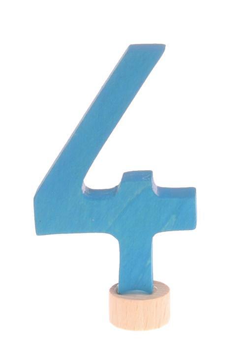 Zahlenstecker 4