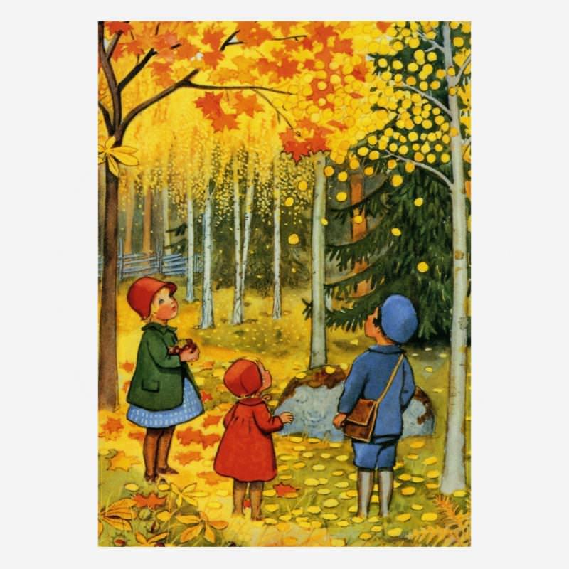 Oktober (E. Beskow)