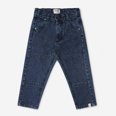 Kinder Hose Utility Pants von Matona aus Bio-Baumwolle in denim blau