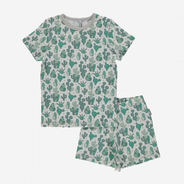 kurzer Schlafanzug Kaktus